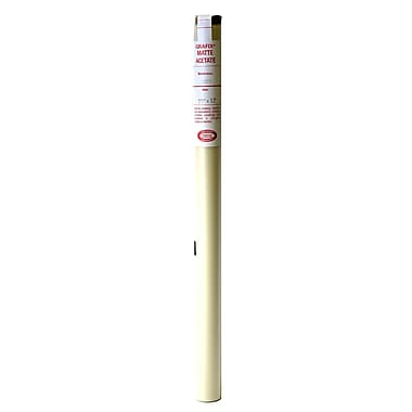 Grafix Acetate Film Rolls 0.003 25 In. X 12 Ft. Matte (Frosted) (R03MT2512)