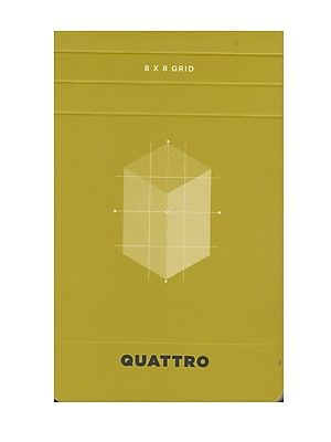 Hand Book Journal Co. Quattro Journals Graph 3 1/2 In. X 5 1/2 In. [Pack Of 12] (12PK-35530)