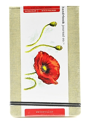 Hand Book Journal Co. Travelogue Watercolor Journals Large Landscape 5 1/4 In. X 8 1/4 In. [Pack Of 2] (2PK-769525)