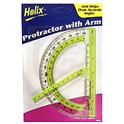 Helix Protractor With Swing Arm Protractor [Pack Of 12] (12PK-60009)
