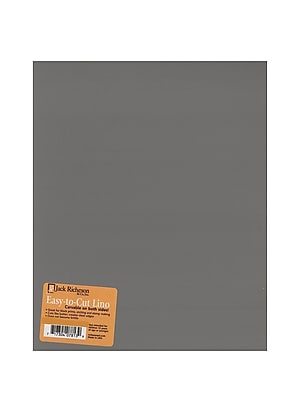 Jack Richeson Unmounted Easy-To-Cut Linoleum 6 In. X 8 In. [Pack Of 4] (4PK-799006)