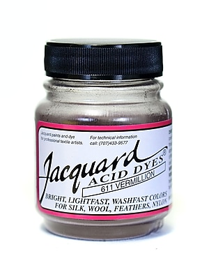 Jacquard Acid Dyes Vermillion [Pack Of 4] (4PK-JAC1611)