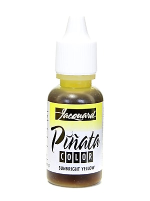 Jacquard Pi+Ata Alcohol Inks Sunbright Yellow [Pack Of 4] (4PK-JFC1002)