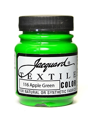 Jacquard Textile Colors Apple Green [Pack Of 4] (4PK-JAC1116)