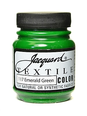 Jacquard Textile Colors Emerald Green [Pack Of 4] (4PK-JAC1117)