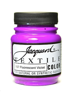 Jacquard Textile Colors Fluorescent Violet [Pack Of 4] (4PK-JAC1157)
