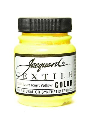 Jacquard Textile Colors Fluorescent Yellow [Pack Of 4] (4PK-JAC1151)