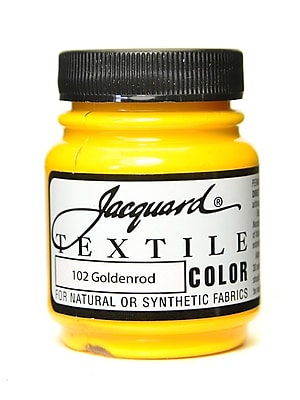 Jacquard Textile Colors Goldenrod [Pack Of 4] (4PK-JAC1102)