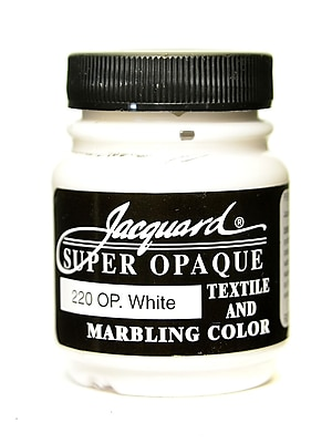 Jacquard Textile Colors Opaque White [Pack Of 4] (4PK-JAC1220)
