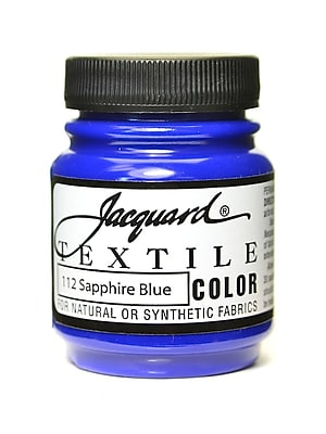 Jacquard Textile Colors Sapphire Blue [Pack Of 4] (4PK-JAC1112)