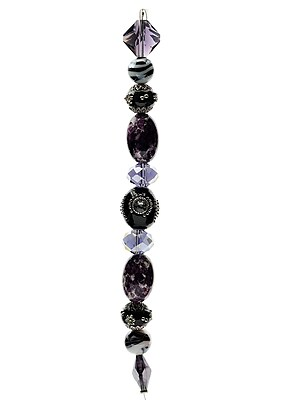 Jesse James Beads Inspirations Bead Strands Midnight Mambo #1 [Pack Of 3] (3PK-6051)