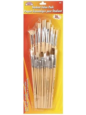 Loew Cornell Student Brush Value Pack Pack Of 25 (74)