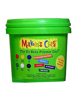 Makin'S Usa No Bake Polymer Clay 5 Lb. Multi Color (33051)