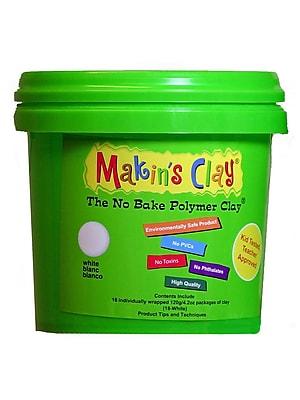 Makin'S Usa No Bake Polymer Clay 5 Lb. White (33052)