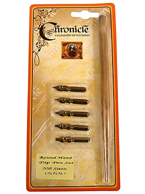 Manuscript Round Hand Dip Pen Set Dip Pen Set [Pack Of 3] (3PK-MDP278)