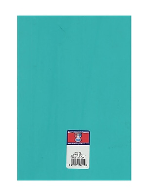 Midwest Clear Colored Pvc Sheets .005 In./.15 Mm Aqua [Pack Of 8] (8PK-704-12)
