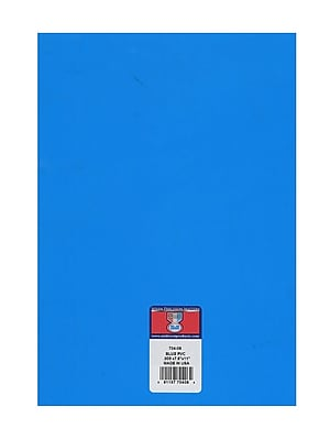 Midwest Clear Colored Pvc Sheets .005 In./.15 Mm Blue [Pack Of 8] (8PK-704-06)