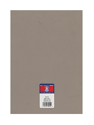 Midwest Clear Colored Pvc Sheets .010 In./.23 Mm Gray [Pack Of 8] (8PK-704-14)
