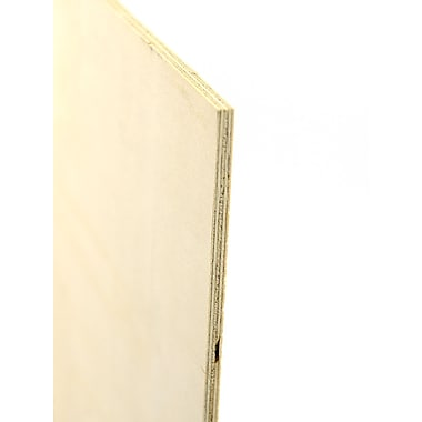 Midwest Thin Birch Plywood Model Grade 1/4 In. 12 In. X 24 In. [Pack Of 2] (2PK-5246)