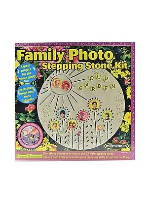 Milestones Family Photo Stone Kit Each (901-11280)