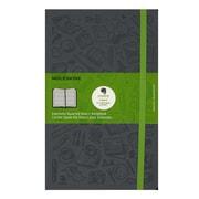 Moleskine Evernote Smart Notebook Squared 5 In. X 8 1/4 In. Slate Grey (8051272892284)