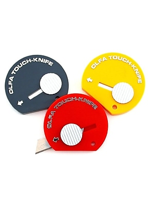 Olfa Touch Knife Assorted Each [Pack Of 12] (12PK-9584)