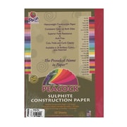 Pacon Peacock Construction Paper Holiday Red 9 In. X 12 In. [Pack Of 4] (4PK-P9909)