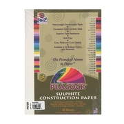Pacon Peacock Construction Paper White 9 In. X 12 In. [Pack Of 6] (6PK-P8709)