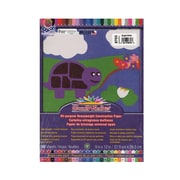 Pacon Sunworks Construction Paper Bright White 9 In. X 12 In. [Pack Of 5] (5PK-8703)