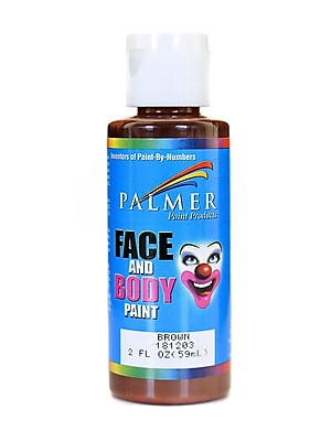Palmer Face Paint Brown 2 Oz. [Pack Of 12] (12PK-181203)