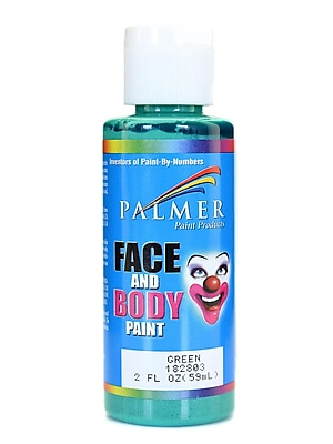 Palmer Face Paint Green 2 Oz. [Pack Of 12] (12PK-182803)