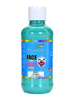 Palmer Face Paint Green 8 Oz. [Pack Of 4] (4PK-182808)