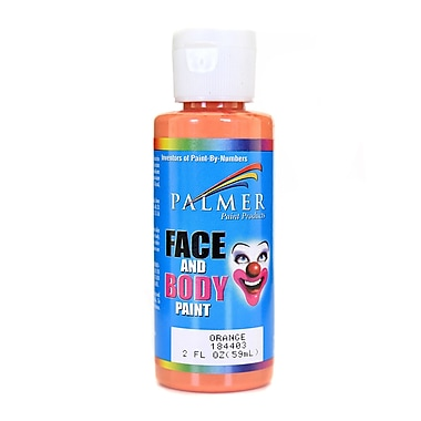 Palmer Face Paint Orange 2 Oz. [Pack Of 12] (12PK-184403)