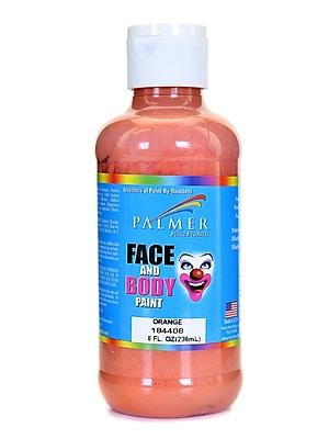 Palmer Face Paint Orange 8 Oz. [Pack Of 4] (4PK-184408)