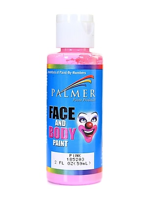 Palmer Face Paint Pink 2 Oz. [Pack Of 12] (12PK-185203)