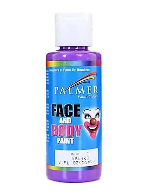 Palmer Face Paint Purple 2 Oz. [Pack Of 12] (12PK-185403)