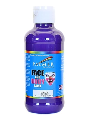 Palmer Face Paint Purple 8 Oz. [Pack Of 4] (4PK-185408)