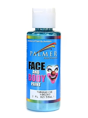 Palmer Face Paint Turquoise 2 Oz. [Pack Of 12] (12PK-186203)