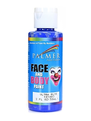 Palmer Face Paint Ultra Blue 2 Oz. [Pack Of 12] (12PK-181003)