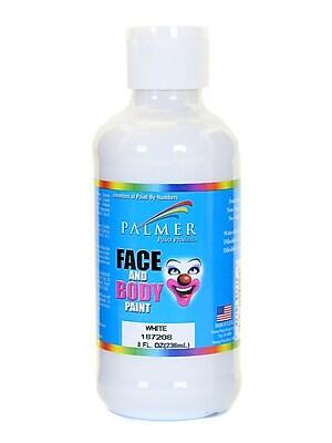Palmer Face Paint White 8 Oz. [Pack Of 4] (4PK-187208)