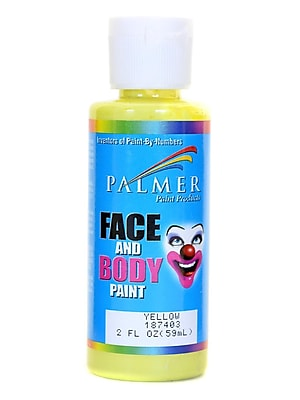 Palmer Face Paint Yellow 2 Oz. [Pack Of 12] (12PK-187403)