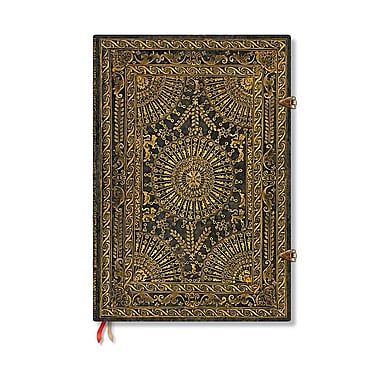 Paperblanks Baroque Ventaglio Journals Marrone Grande, 8 1/4 In. X 11 3/4 In. 240 Pages, Unlined (9781439719268)