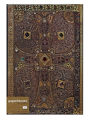Paperblanks Lindau Gospels Journals Grande 8 1/4 In. X 11 3/4 In. 128 Pages, Unlined (9781439718148)