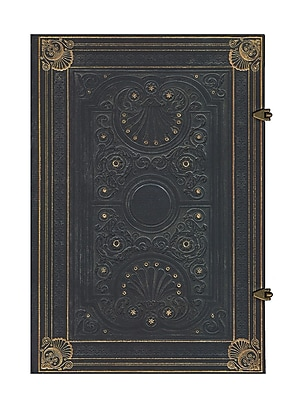 Paperblanks Nocturnelle Journals Grande 8 1/4 In. X 11 3/4 In. 240 Pages, Unlined (9781439722060)