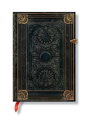 Paperblanks Nocturnelle Journals Midi 5 In. X 7 In. 240 Pages, Unlined (9781439722091)