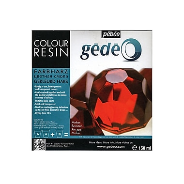 Pebeo Gedeo Colour Resins Amber 750 Ml (766154CAN)