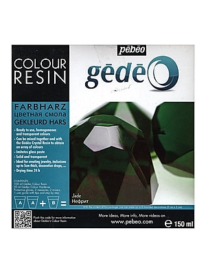 Pebeo Gedeo Colour Resins Jade 750 Ml (766153CAN)