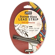 Pebeo Self Adhesive Lead Strip Lead Strips 1/8 In. 33 Ft. (843001)