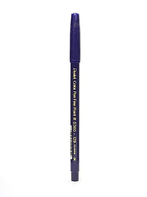 Pentel Color Pens Prussian Blue 129 [Pack Of 24] (24PK-S360-129)