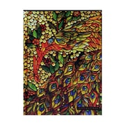 Peter Pauper Foldover Journals Stained Glass 6 1/4 In. X 8 1/4 In. 160 Pages [Pack Of 2] (2PK-9781441306609)